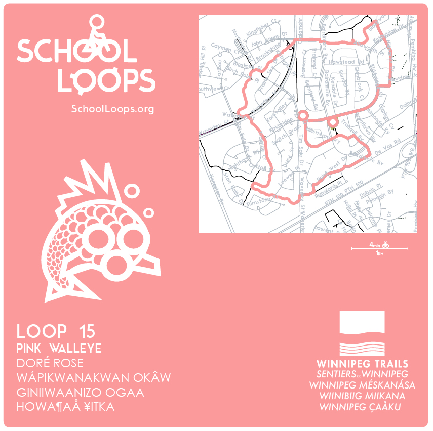 a school loop map example